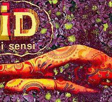 Acid Girl cinema illustration for the film ACID extra manipulation by Kitza by kitza