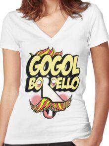 Gogol Bordello - Tarantara Women's Fitted V-Neck T-Shirt