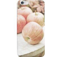 Garden apples iPhone Case/Skin