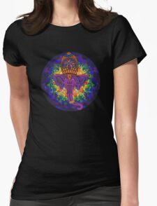 Ganesha Psychedelic Art Womens Fitted T-Shirt