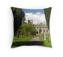 St. Kentigem at Caldbeck Throw Pillow