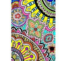 colorful mandalas Photographic Print