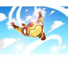 Cutie-Iron Man in Flight Photographic Print