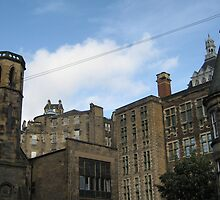 The old town from Candlemaker Row by Yonmei