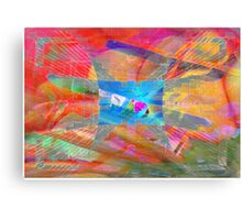 Lost in colours Canvas Print