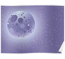 Abstract night sky 2 Poster