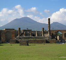 The Forum at Pompeii by James Hennman