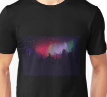Aurora Boreal Unisex T-Shirt