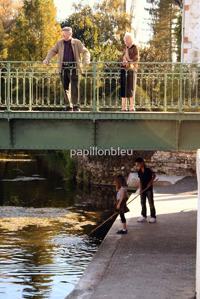 above and below the bridge by Pamela Jayne Smith
