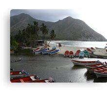 Playa Chuao Canvas Print