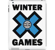 Winter X Games iPad Case/Skin