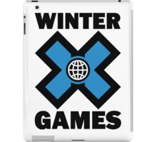 Winter X Games iPad Case/Skin