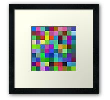 Color is a power which directly influences the soul Framed Print