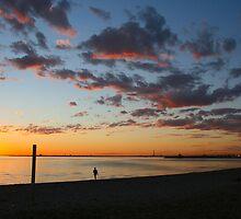St Kida Sunset by Rachael Taylor
