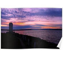 Browns Point Light House Poster