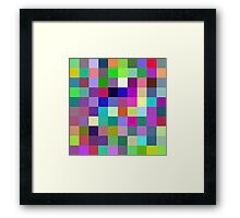 Mix of Colors, Mix of emotions Framed Print