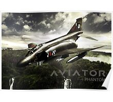 F-4 Phantom Fighter Jet Poster