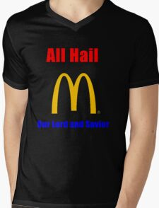 All Hail the big M Mens V-Neck T-Shirt