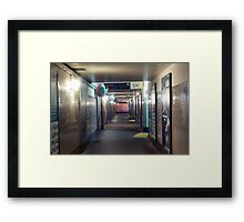 ghost commuter Framed Print