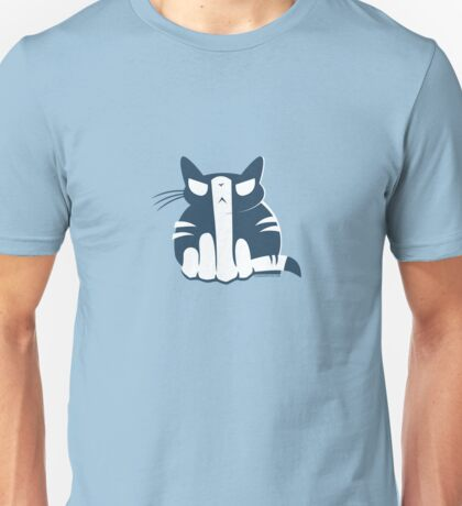 Flipping Off Cats Unisex T-Shirt