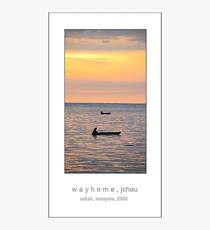 w a y h o m e Photographic Print