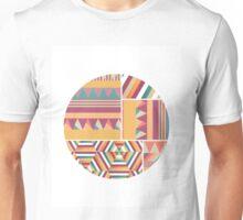 Circular Graphic Print Unisex T-Shirt