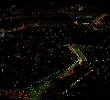 Seoul by Night, South Korea by bulljup