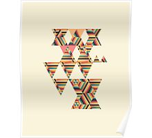 Triangle Graphic Print Poster