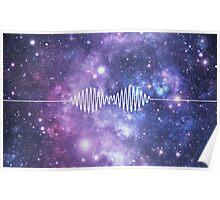 Arctic Monkeys space nebula Poster