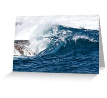 Ocean Sculpture Greeting Card