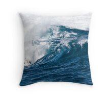 Ocean Sculpture Throw Pillow