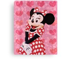 Mouse in LOVE Canvas Print