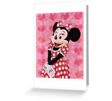 Mouse in LOVE Greeting Card