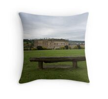 A country seat. Throw Pillow