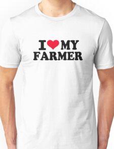 I love my Farmer Unisex T-Shirt