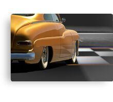 1950 Mercury Custom Sedan Metal Print