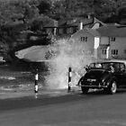 Morris Minor and the Waves !! by Sheila Laurens