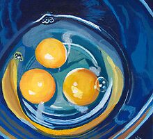 eggs in a bowl by ria hills