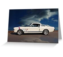 1966 Shelby Mustang G.T.350 Greeting Card