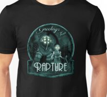 Bioshock - Greetings from Rapture Unisex T-Shirt