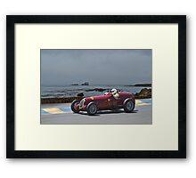 1935 Alpha Romeo 8C-35 Gran Prix Racer Framed Print