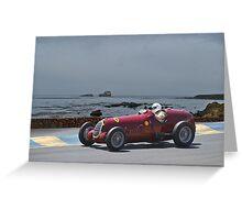 1935 Alpha Romeo 8C-35 Gran Prix Racer Greeting Card