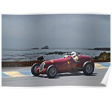 1935 Alpha Romeo 8C-35 Gran Prix Racer Poster