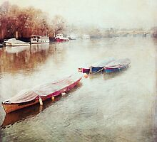Tranquil Boats by veevs