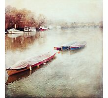 Tranquil Boats Photographic Print