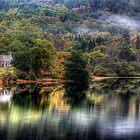 Loch Achray Church by Linda  Morrison