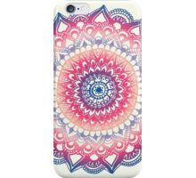 Ocean Sunset Mandala iPhone Case/Skin