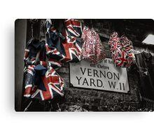 Vernon Yard Canvas Print