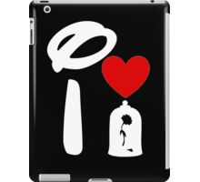 I Heart Beauty and The Beast (Inverted) iPad Case/Skin