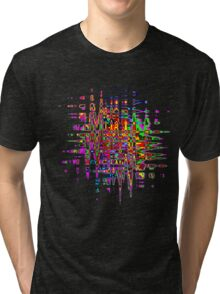 Abstract colorful tee Tri-blend T-Shirt